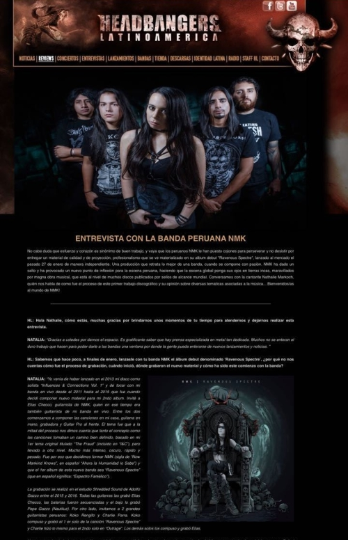 nmk entrevista headbangers latinoamerica